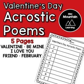 Valentine's Acrostic Poems