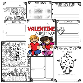 Valentine's Activity Book Freebie