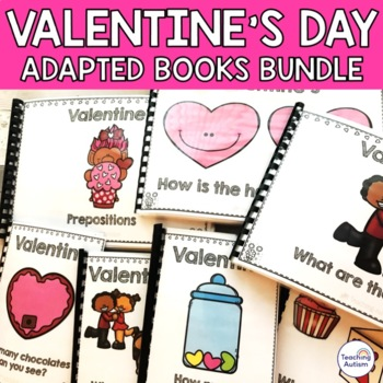 Valentine's Day Adapted Books Autism