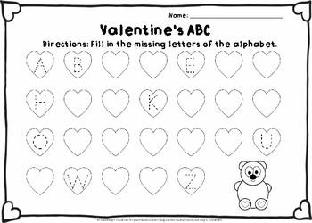 Valentine's Alphabet