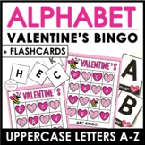 Valentine's Alphabet Bingo Game - Letters A through Z