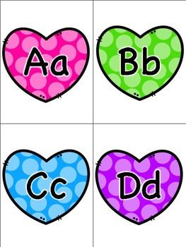 Valentine's Day Alphabet Flashcards