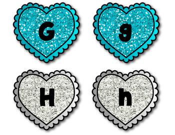 Valentine's Alphabet Matching Game