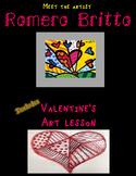 Valentine's Art Lesson