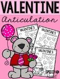 Valentine's Day Articulation: Speech Therapy