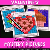 Valentine's: Articulation Mystery Pictures