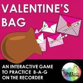 Valentine's BAG: Interactive Recorder Game