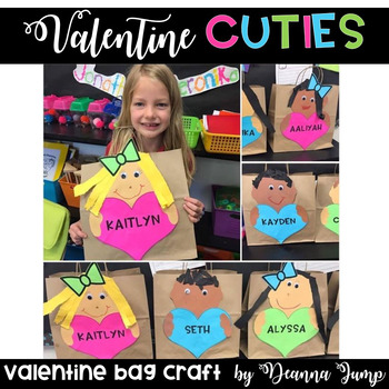 Valentine's Bag Craft and Printables {EDITABLE}