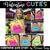 Valentine's Bag Craft and Printables {EDITABLE}