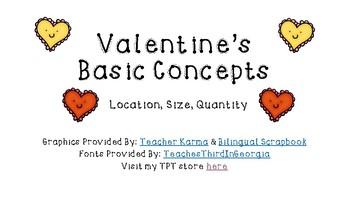 Valentine's Day Language: Basic Concepts