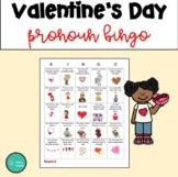 Valentine's Day Pronoun Bingo