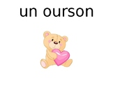 Valentine's Bingo - French