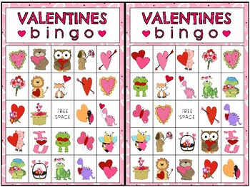 Valentine's Bingo - Fun Break Activity