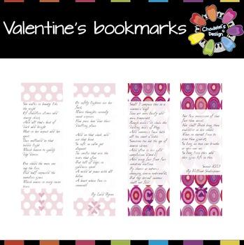 Valentine's Bookmarks