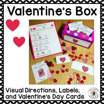 Valentine's Box with Visual Directions