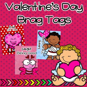 Valentine's Brag Tags