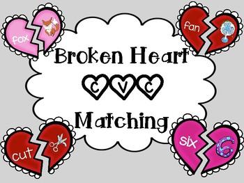 Valentine's CVC Matching