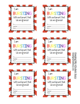Valentine Grams - Cards - Fundraiser - Candy - Favors