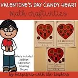 Valentine's Candy Math Craftivites