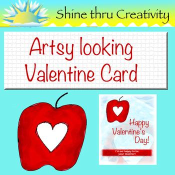 Valentine's Card, Gift Card