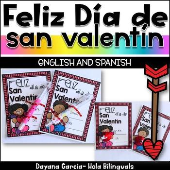 Valentine's Cards - FREEBIE {English and Spanish}