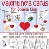 Valentine's Cards Spanish Día de San Valentín / Enamorados