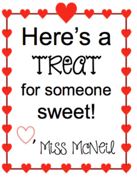 Valentine's Cards for Students from Teacher (EDITABLE)