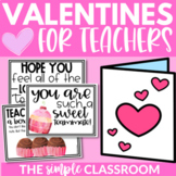 Valentine's Cards for Teachers