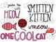 Valentine's Cats Digital Clip Art Set