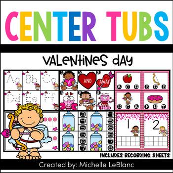 Valentine's Center Tubs