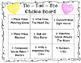 Valentine Centers & Choice Board