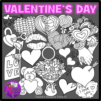 Valentine's Clip Art for teens