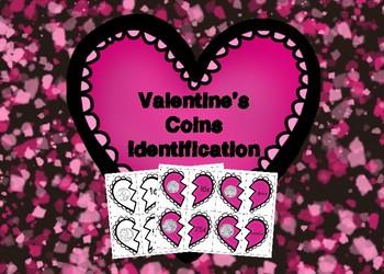 Valentine's Coins Identification Broken Heart