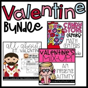Valentine's Common Core Bundle for 2nd Grade