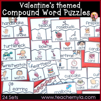 Valentine's Compound Word Puzzles