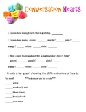 Valentine's Conversation Hearts Math Activities