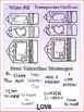 Valentine's Conversation Pencils (3 FREE Elements 10 FREE
