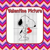 Valentine's Math Coordinate Graphing Fun! - 2 Versions, 1s