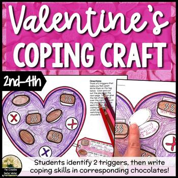 Valentine's Counseling Craft Activity For Coping
