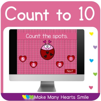 Valentine's Counting 1-10: Get 3 for $2