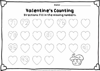 Valentine's Counting