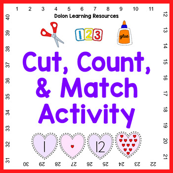 Valentine's Counting Activity