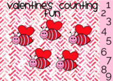 Valentine's Counting Practice