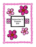 Valentine's Coupons (Students personalize for parents, teachers, friends...)