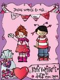 Valentine's Craft for children's ministry, sunday school, or christian preschool