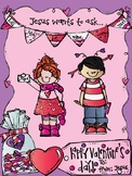 Valentine's Craft for children's ministry, sunday school,