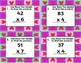 Valentine's Day 2 digit by 1 digit Multiplication Task Cards