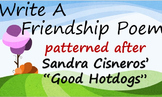 "Valentine's Day Writing: Sandra Cisneros' ""Good Hotdogs"""