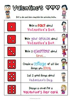 Valentine's Day Activities - Literacy Center