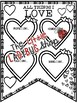 Valentine's Day Writing Bulletin Board Teach-Go Pennant Valentine's Day Activity